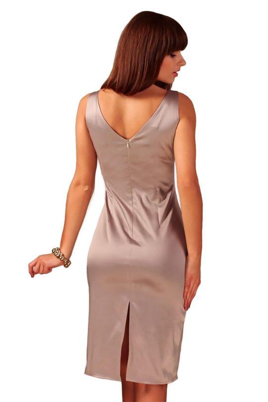 Sukienka Afrodyta w kolorze cappucino
