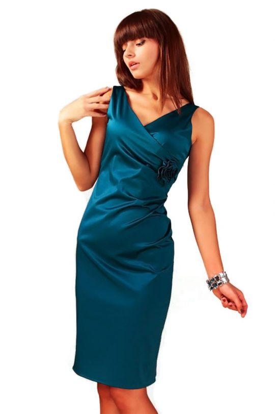 Sukienka Afrodyta w kolorze morski granat