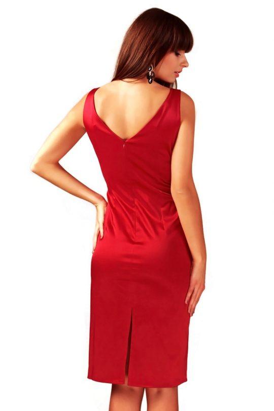 Sukienka Afrodyta w kolorze czerwonym