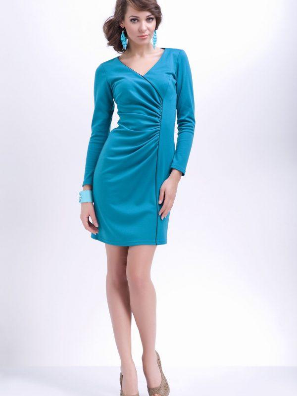 Sukienka Agnes w kolorze miodowym