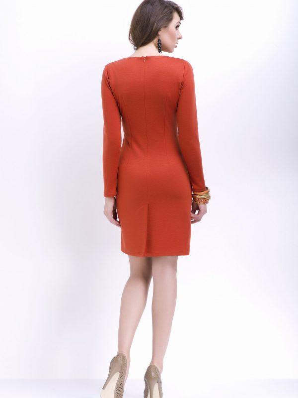 Sukienka Agnes w kolorze chabrowym