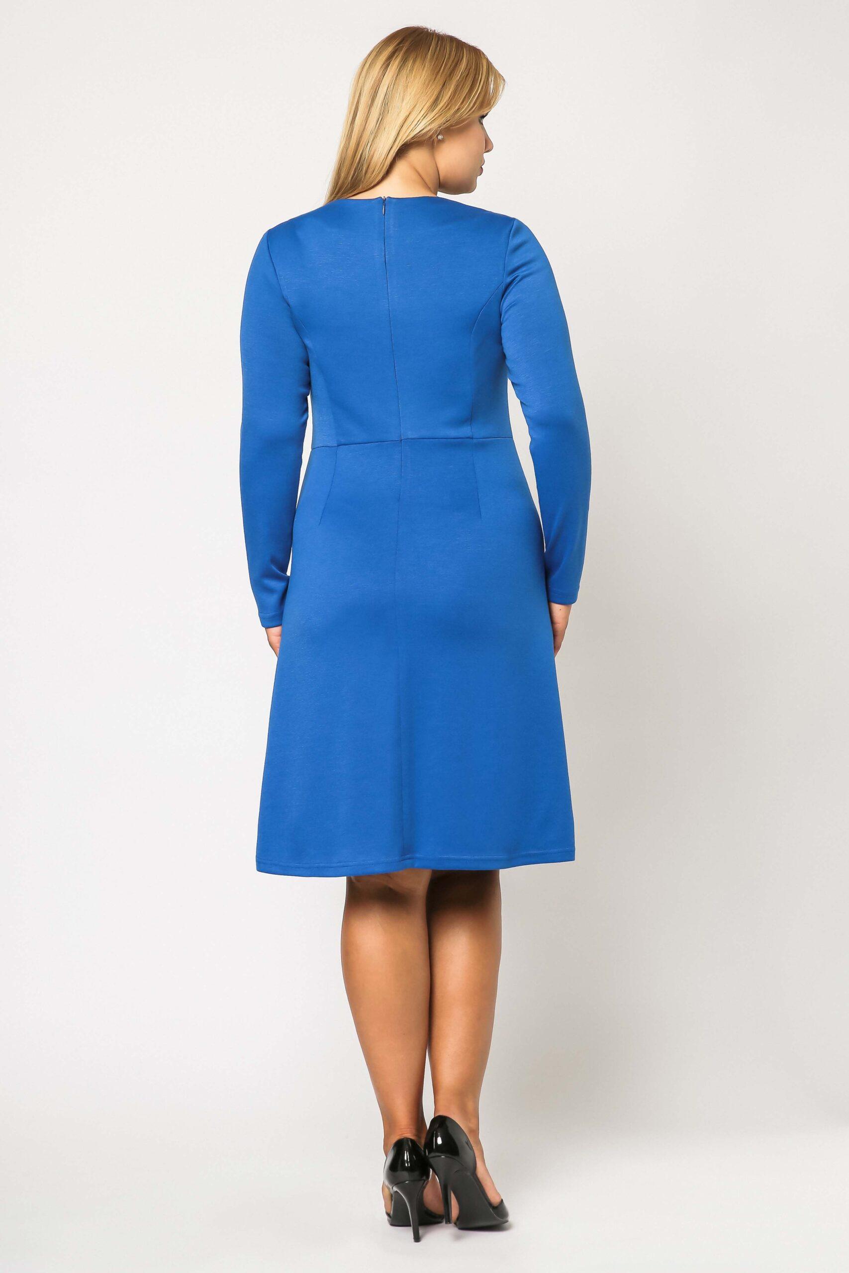 Sukienka Alice w kolorze chabrowym