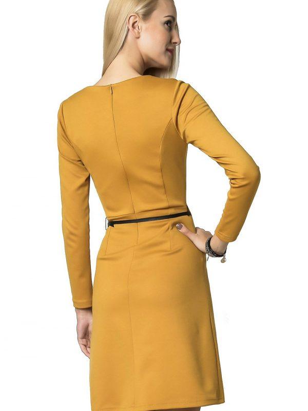 Sukienka Angela w kolorze miodowym