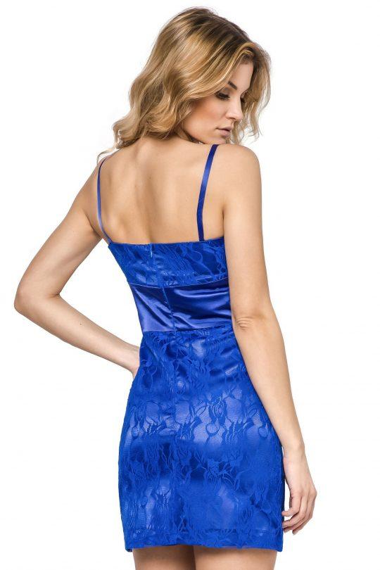 Sukienka Bella w kolorze niebieskim