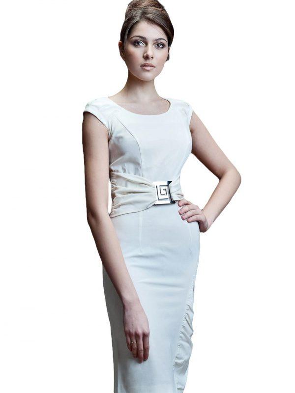 Sukienka Bianka w kolorze ecru