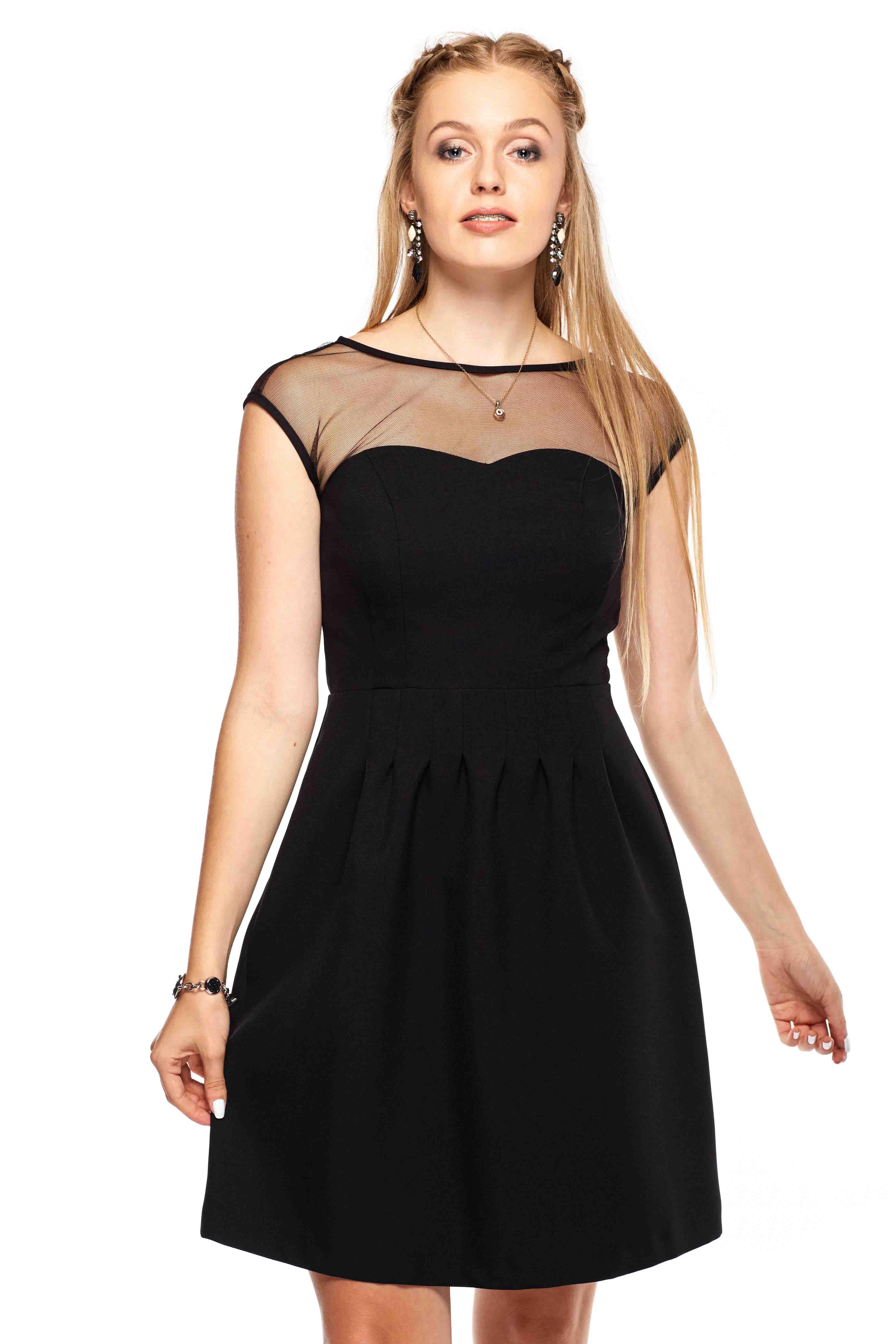 Sukienka Catherine w kolorze czarnym