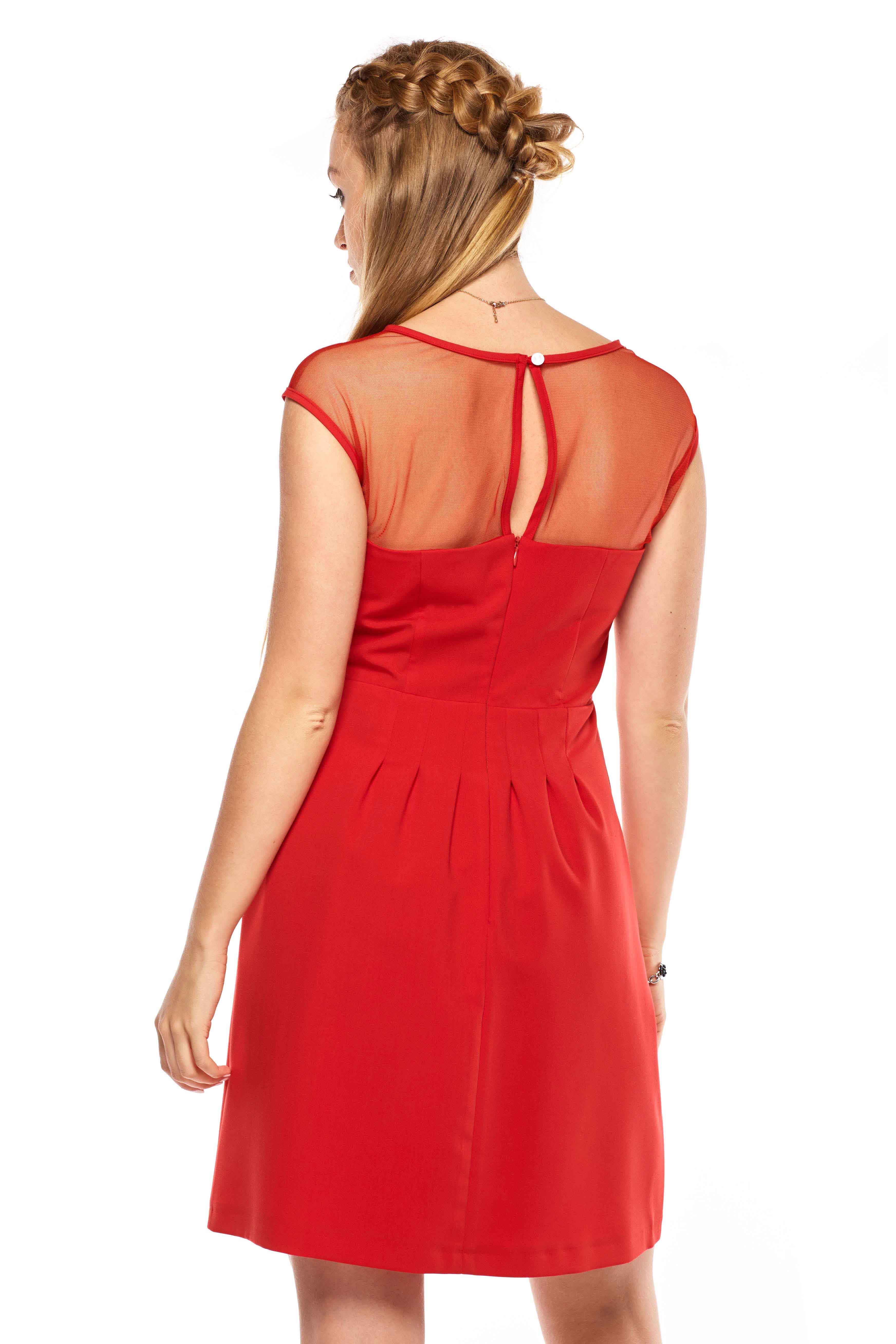 Sukienka Catherine w kolorze czerwonym