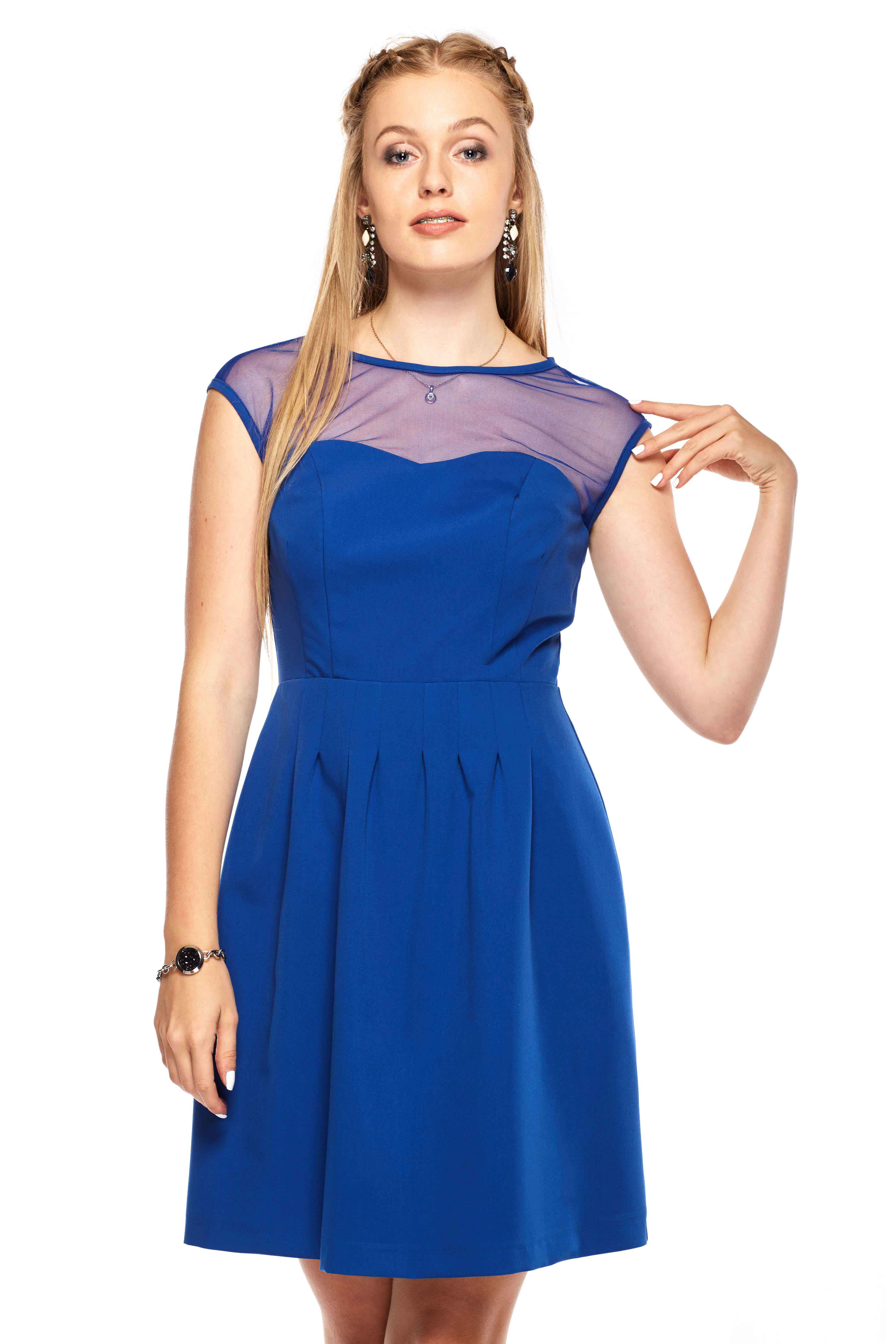 Sukienka Catherine w kolorze niebieskim