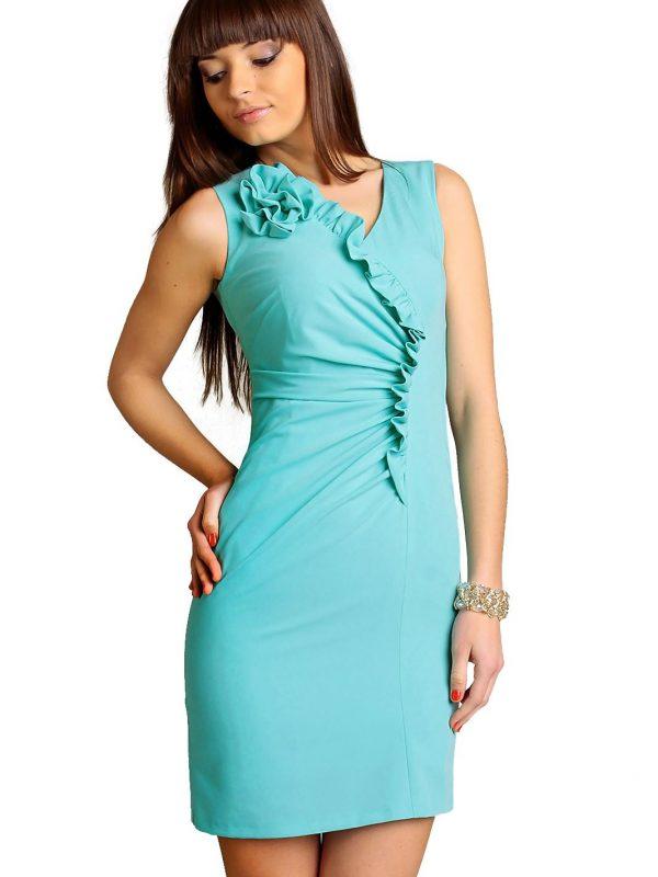 Sukienka Chantale w kolorze mięty