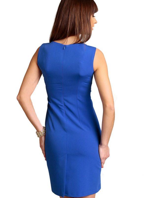Sukienka Chantale w kolorze chabrowym