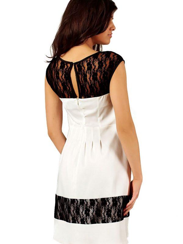 Sukienka Chiara w kolorze ecru