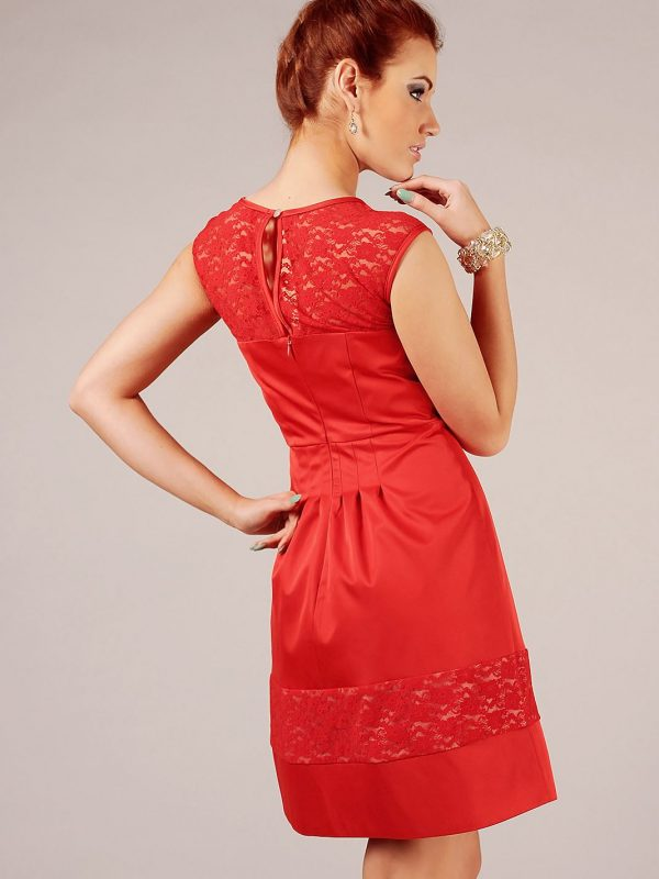 Sukienka Chiara w kolorze czerwonym