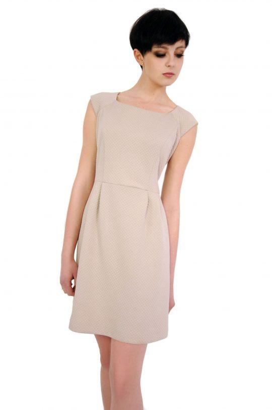 Sukienka Colette w kolorze beżowym