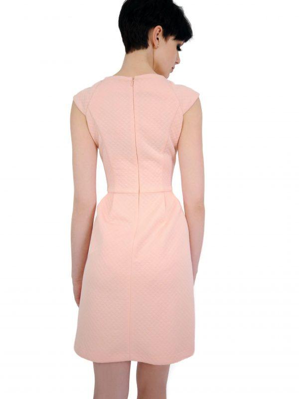 Sukienka Colette w kolorze pudrowym