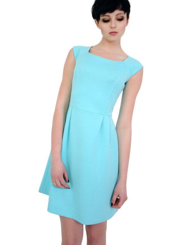 Sukienka Colette w kolorze turkusowym
