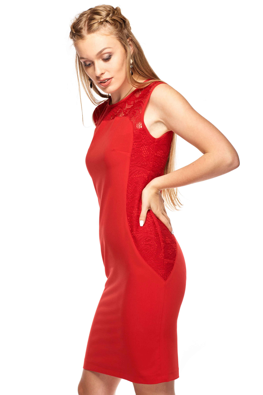 Sukienka Diana w kolorze czerwonym