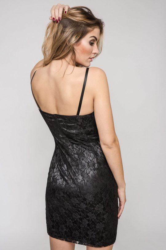 Sukienka Doris w kolorze czarnym