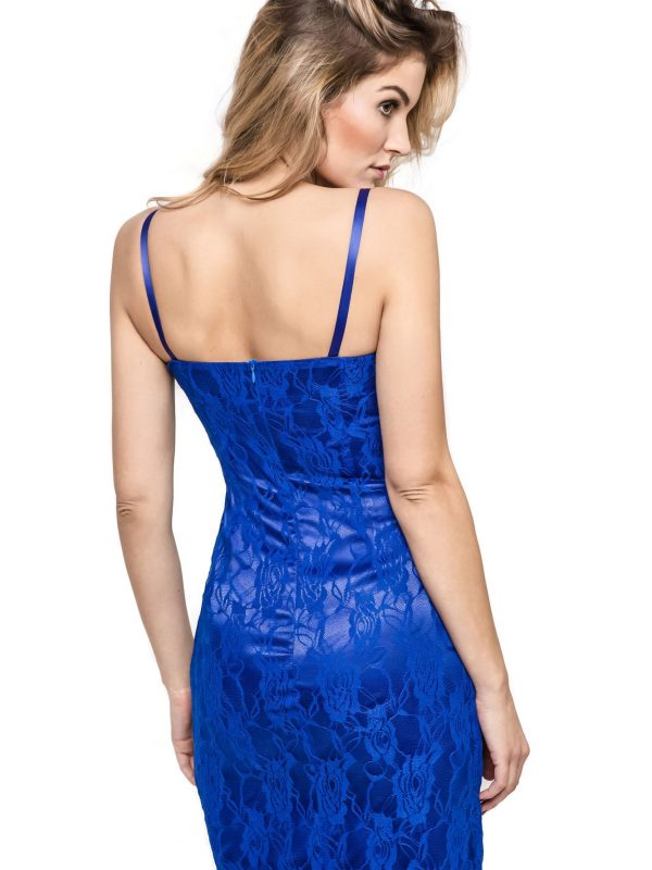 Sukienka Doris w kolorze niebieskim