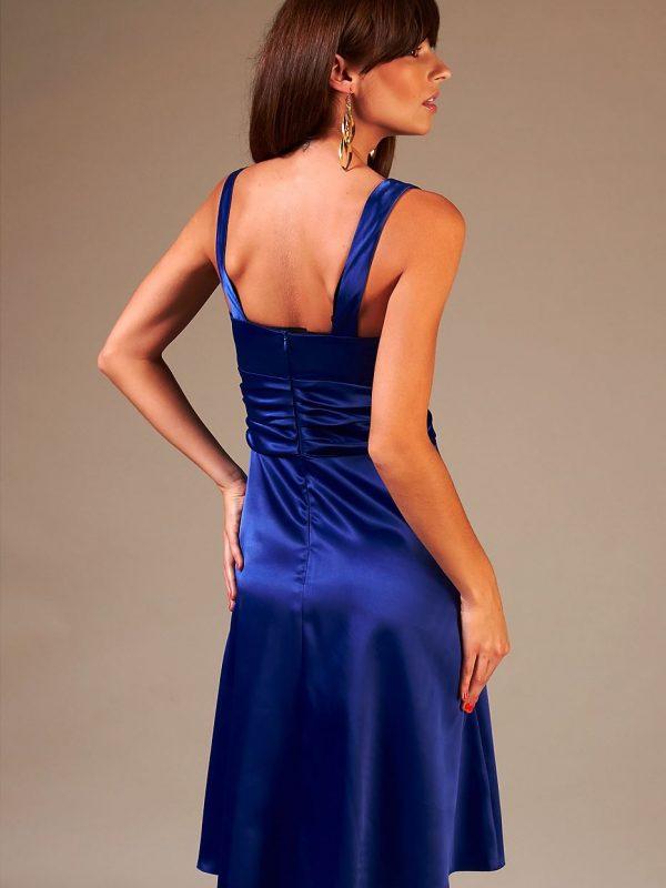 Sukienka Edyta w kolorze niebieskim