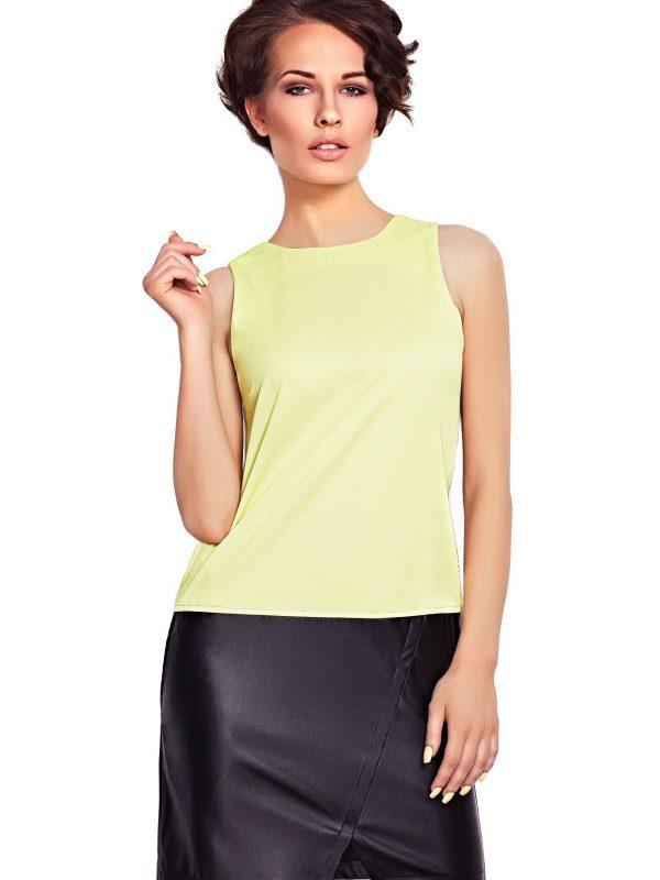Sukienka Elena w kolorze limonka