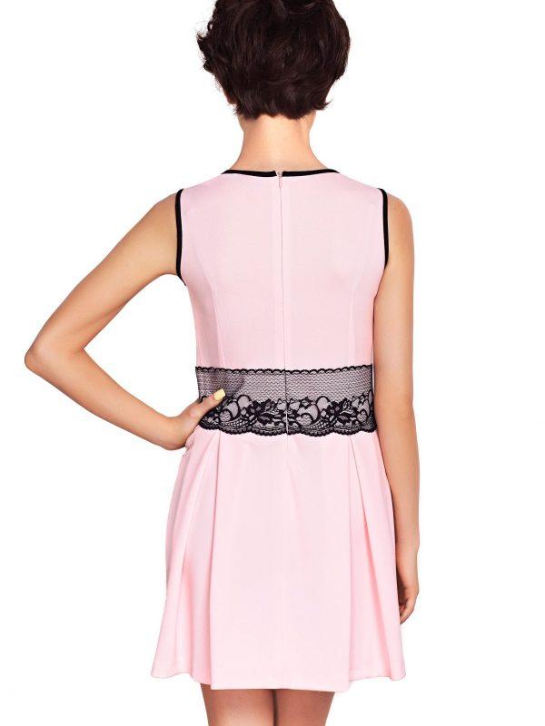 Sukienka ELODIE SOMMER w kolorze pudrowym