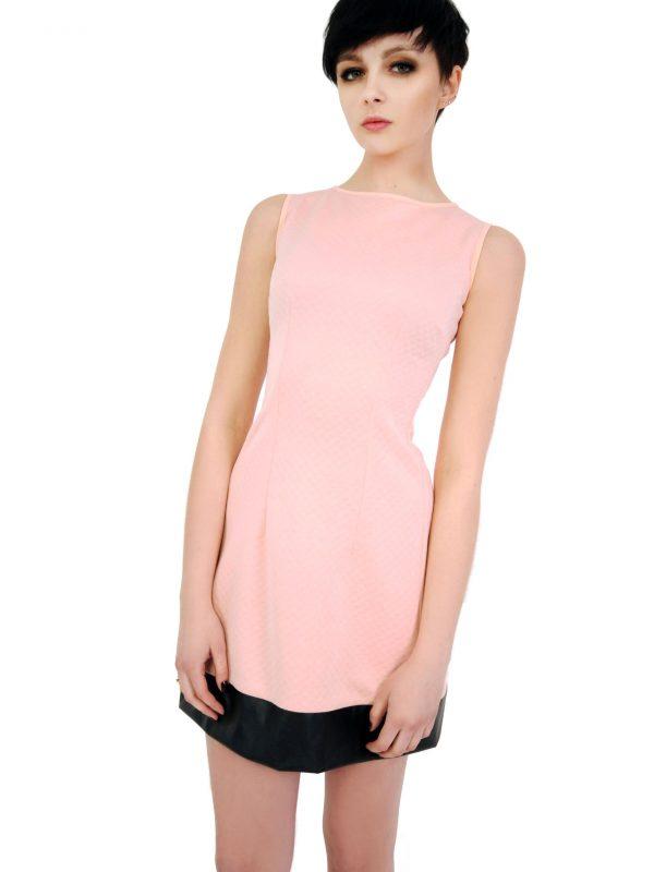 Sukienka Emilie w kolorze pudrowym