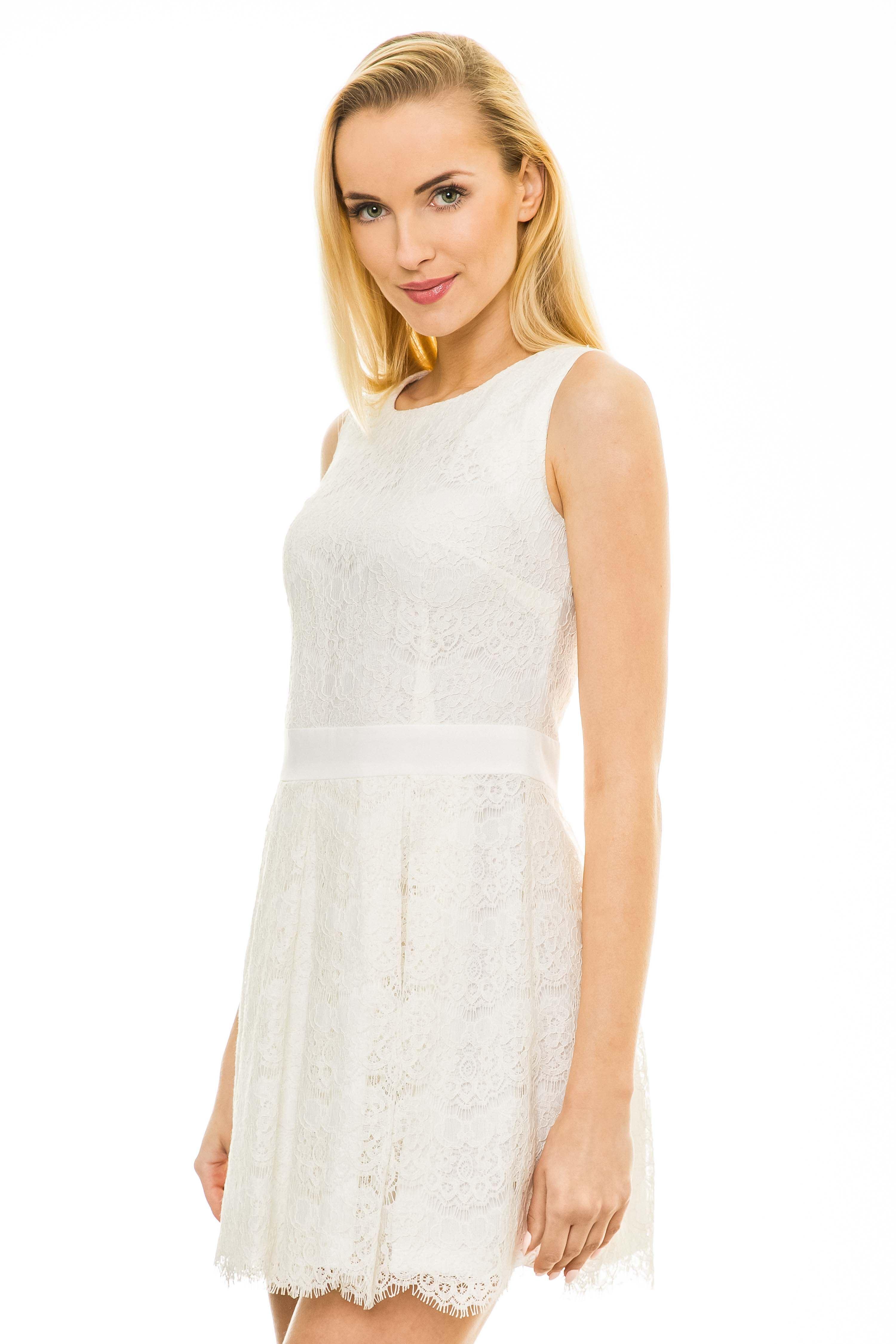 Sukienka Emma w kolorze ecru
