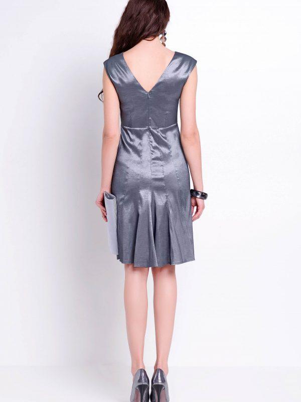 Sukienka Fiona w kolorze srebrnym