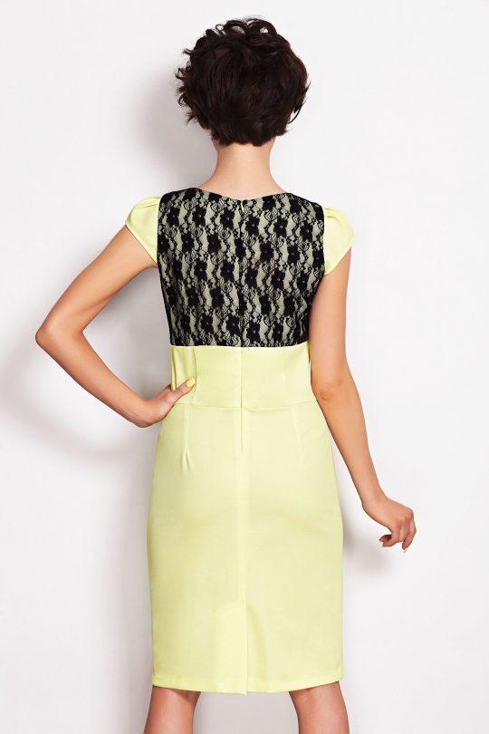 Sukienka GABI w kolorze ecru