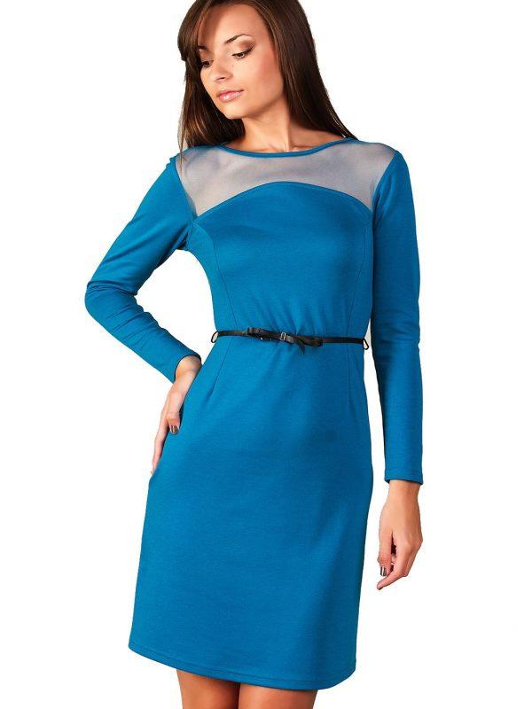 Sukienka Giselle w kolorze błękit paryski