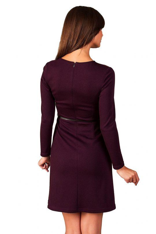 Sukienka Giselle w kolorze śliwkowym
