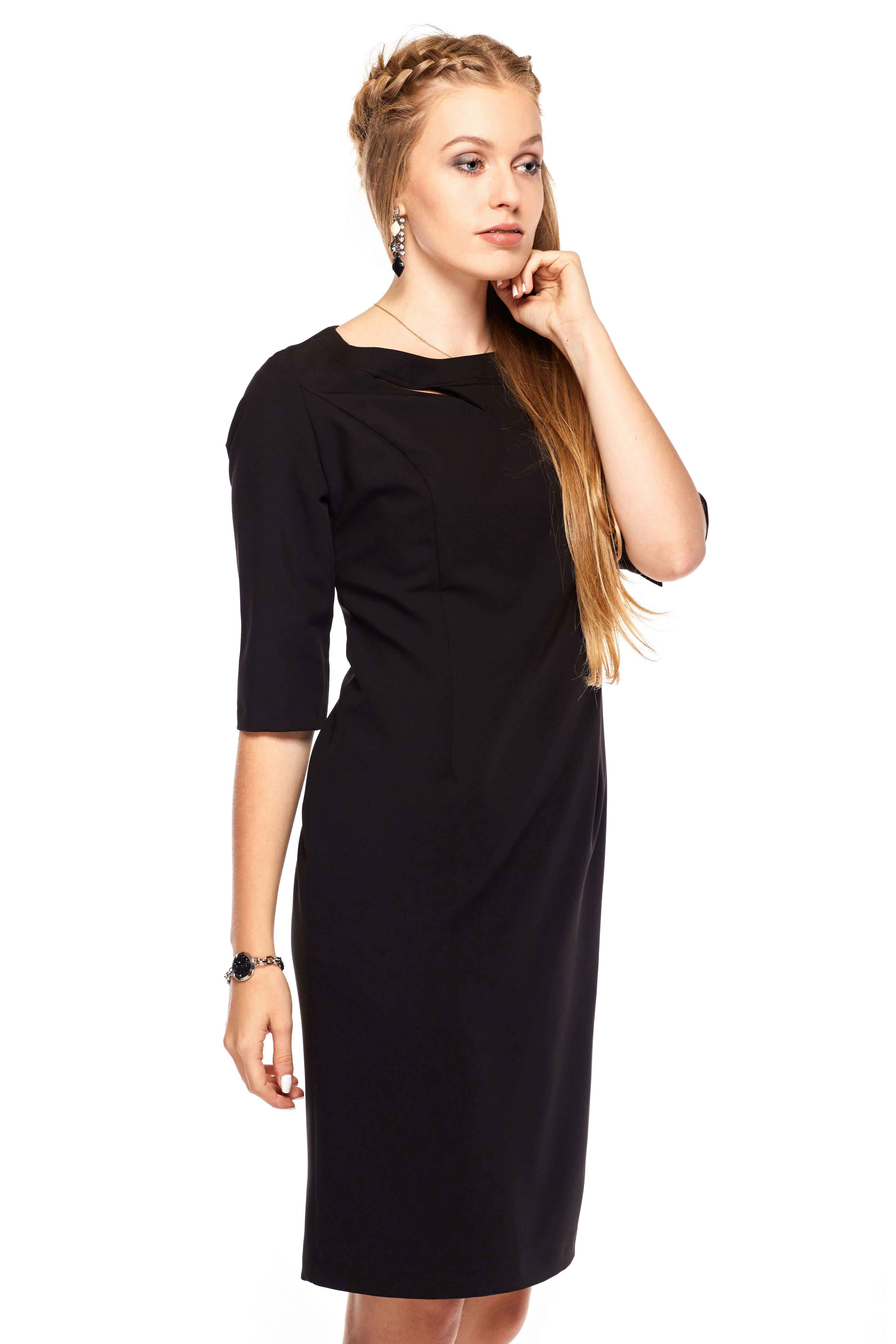 Sukienka Inga w kolorze czarnym