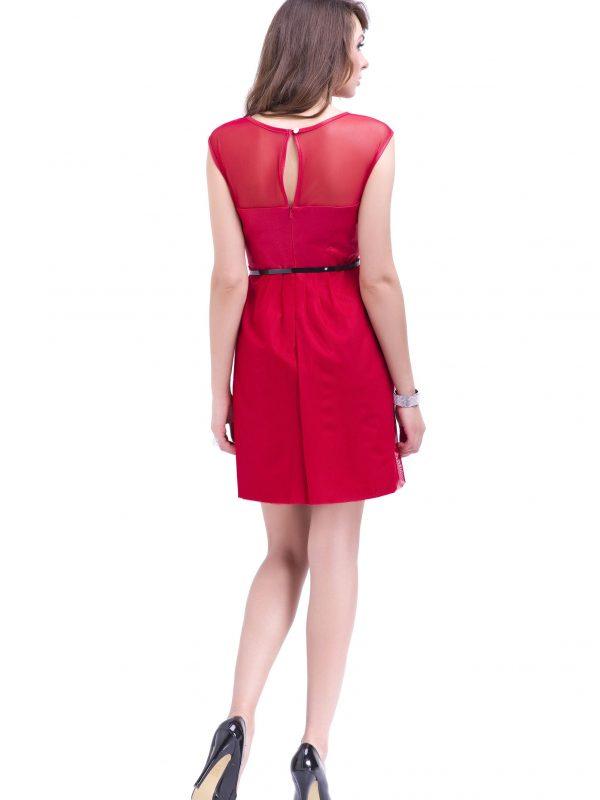 Sukienka Ivone w kolorze czerwonym
