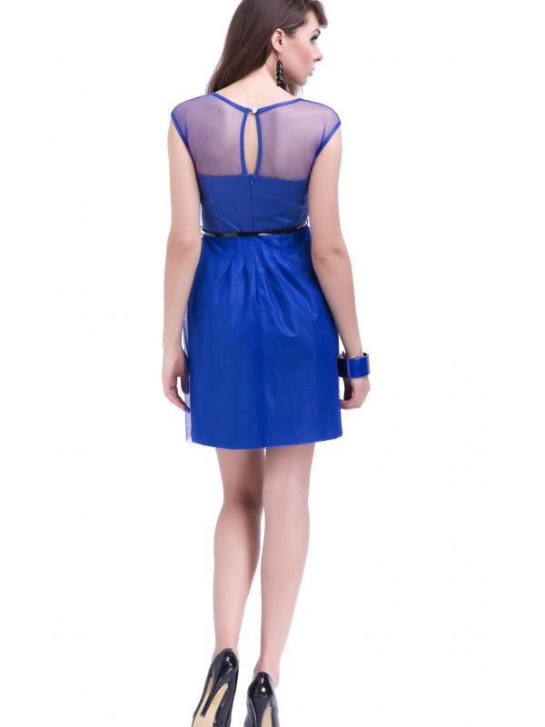 Sukienka Ivone w kolorze chabrowym