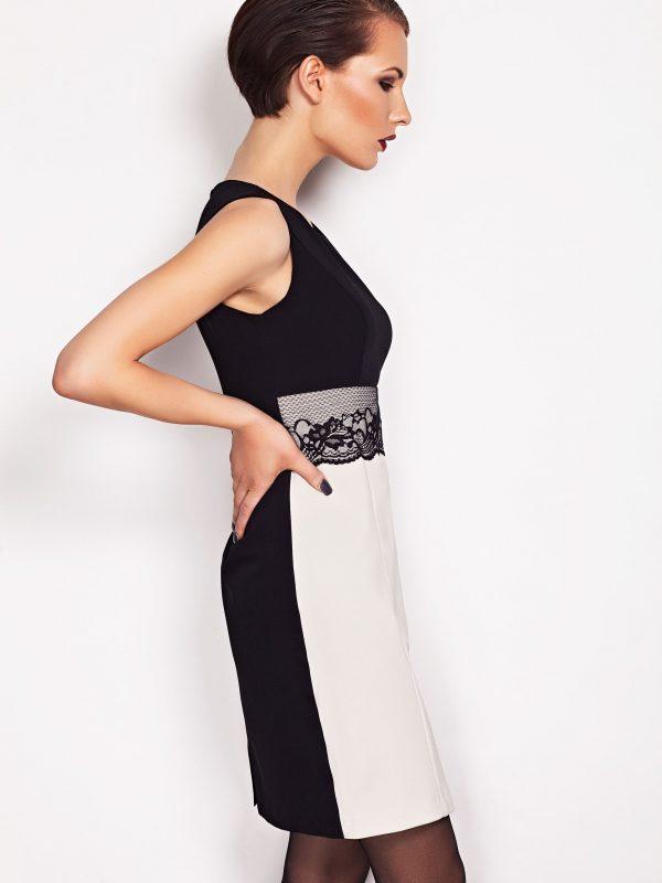 Sukienka JASMINE w kolorze beżowym