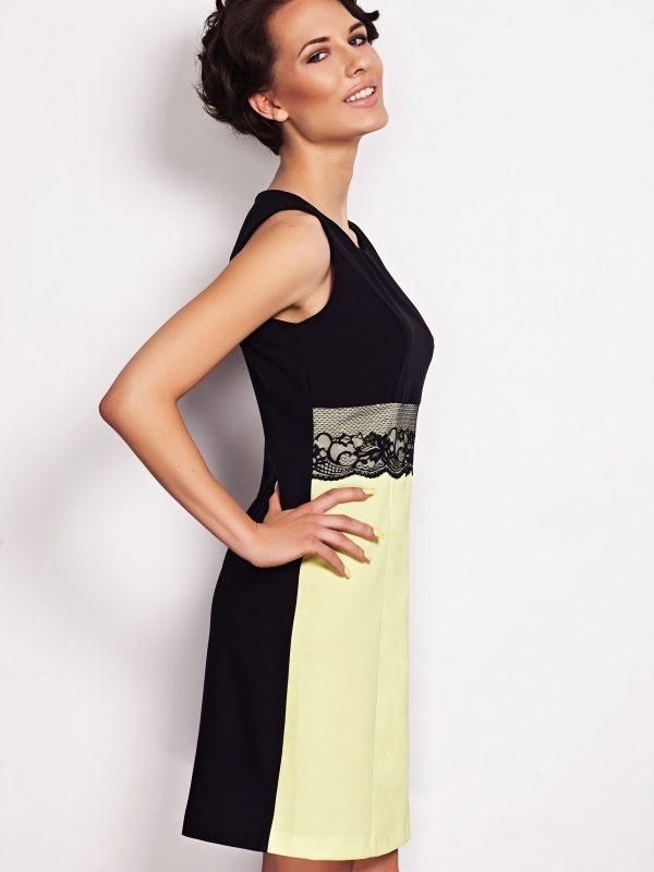 JASMINE Lime Dress
