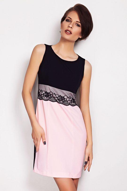 Sukienka JASMINE w kolorze ecru