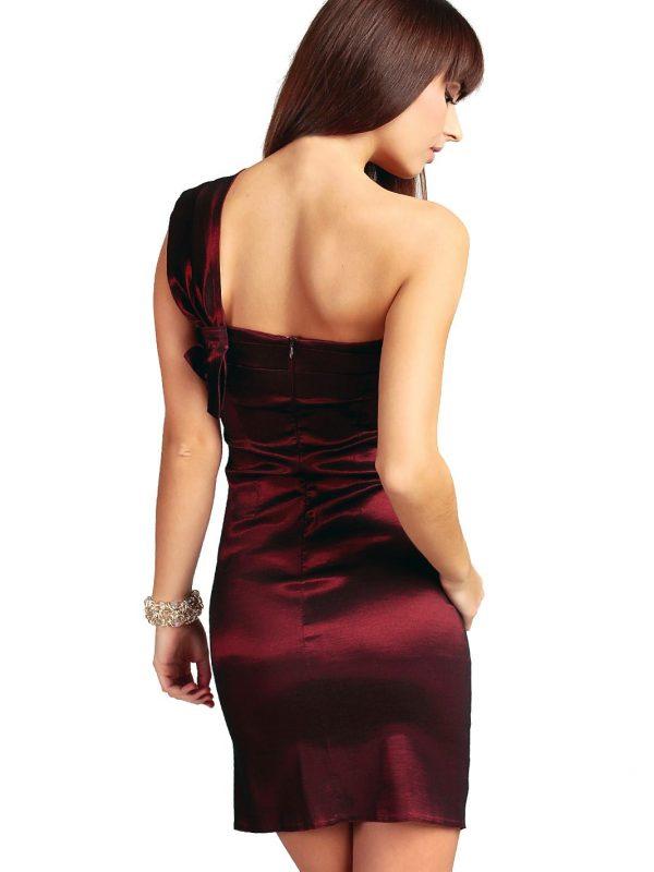 Sukienka Kaja w kolorze bordowym
