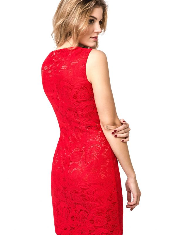 Sukienka Maja w kolorze czerwonym