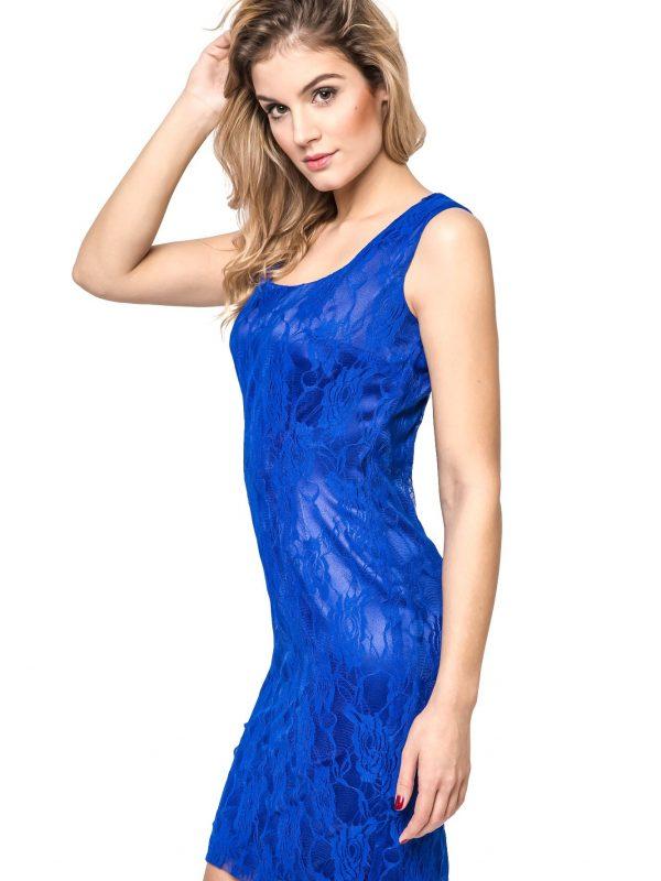 Sukienka Maja w kolorze niebieskim