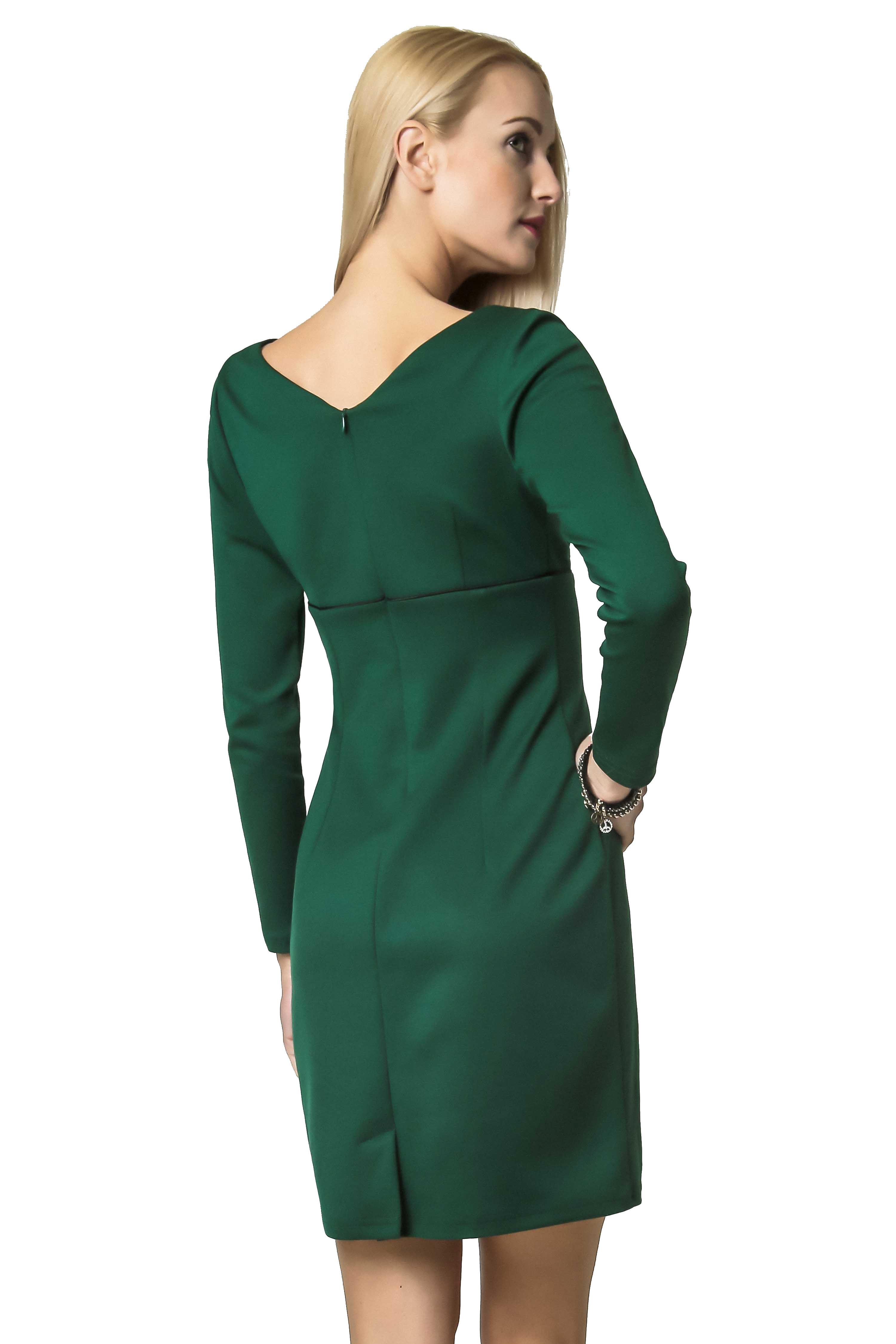 Sukienka Marie Knitwear w kolorze zielonym