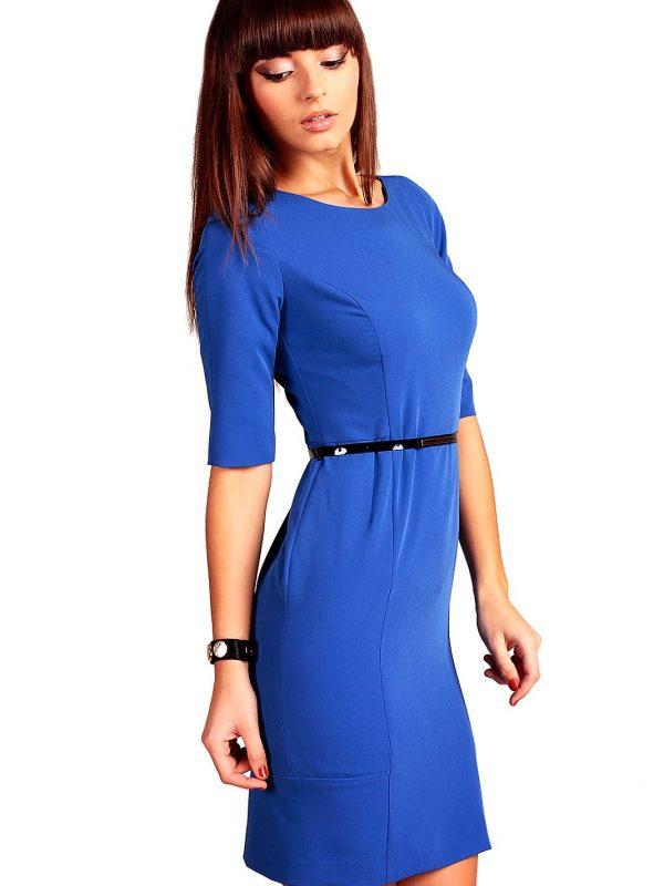 Sukienka Marina w kolorze chabrowym