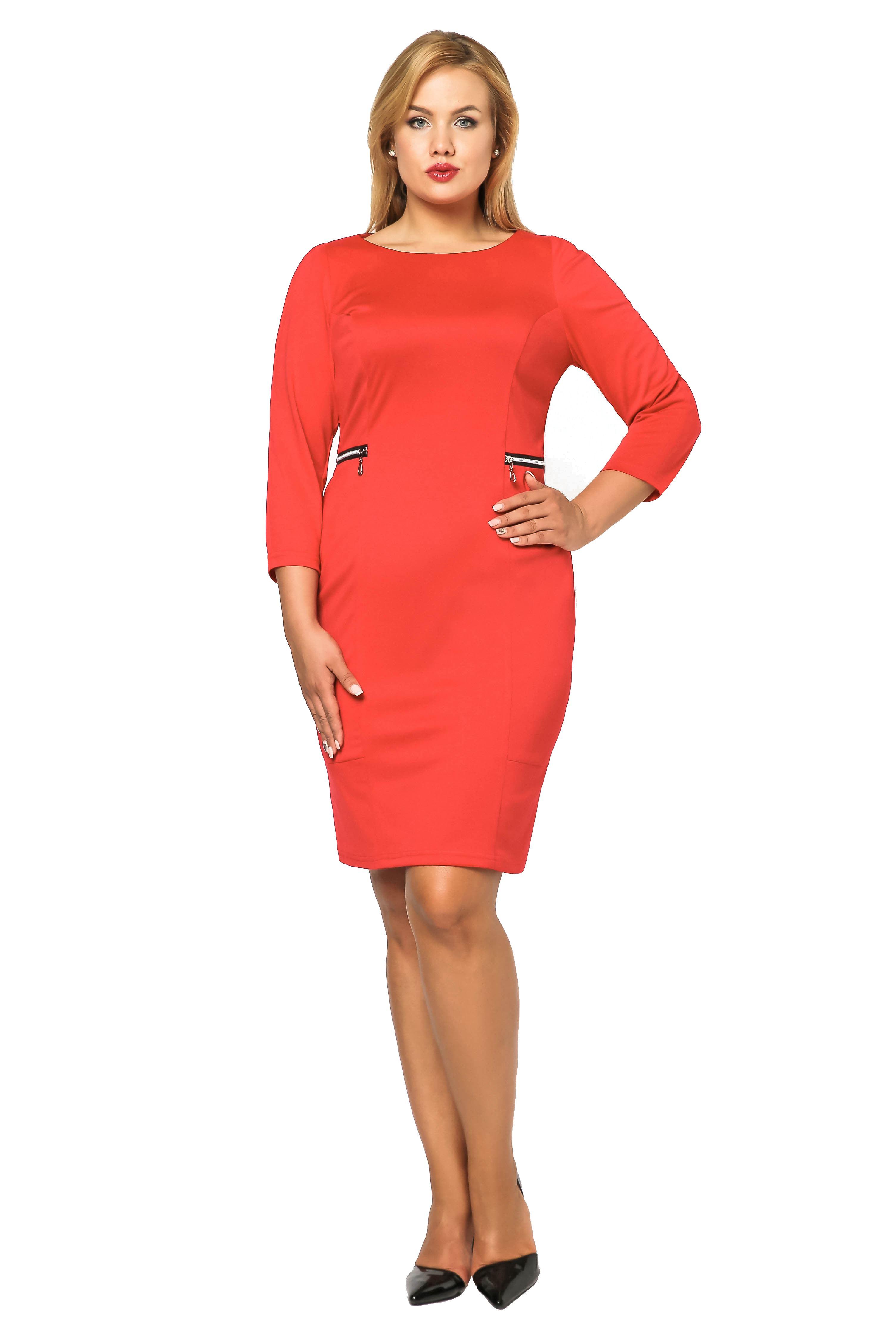 Sukienka Melanie czerwona