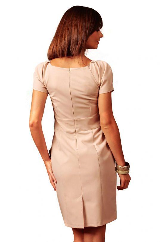 Sukienka Michelle w kolorze cappucino