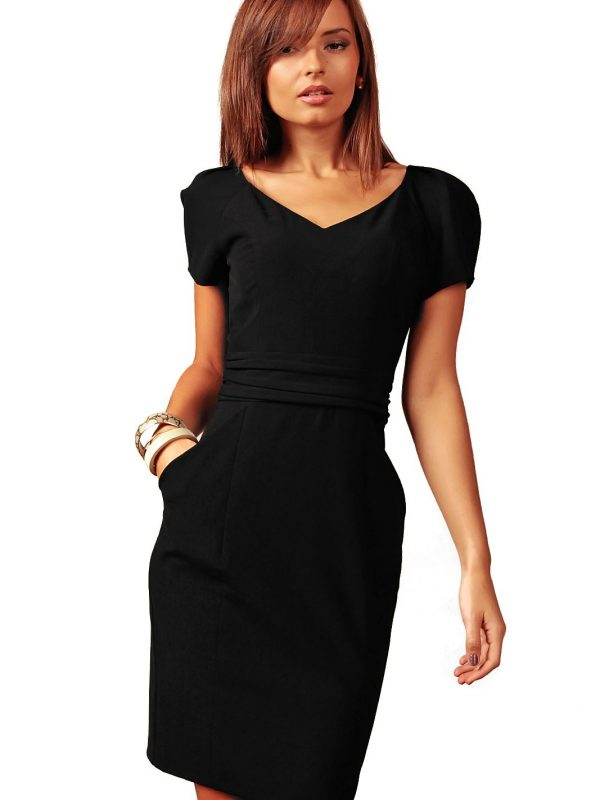 Sukienka Michelle w kolorze czarnym