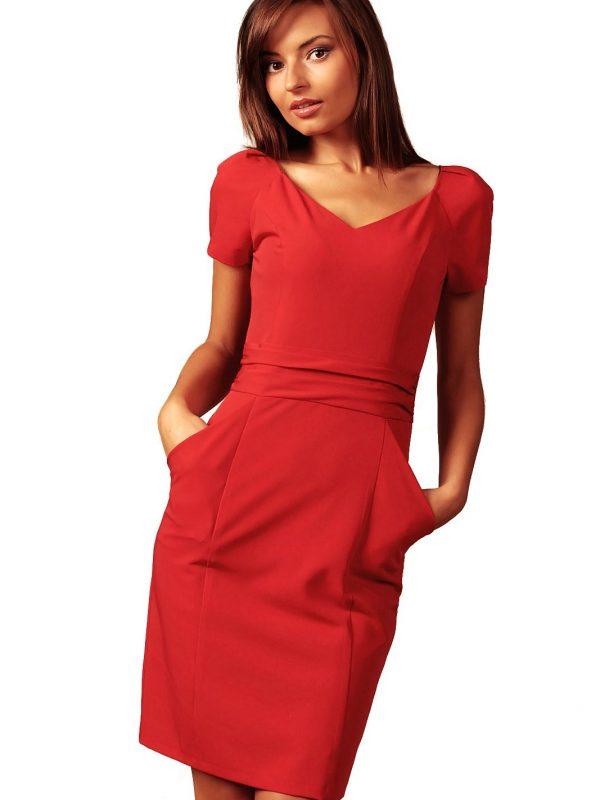 Sukienka Michelle w kolorze czerwonym