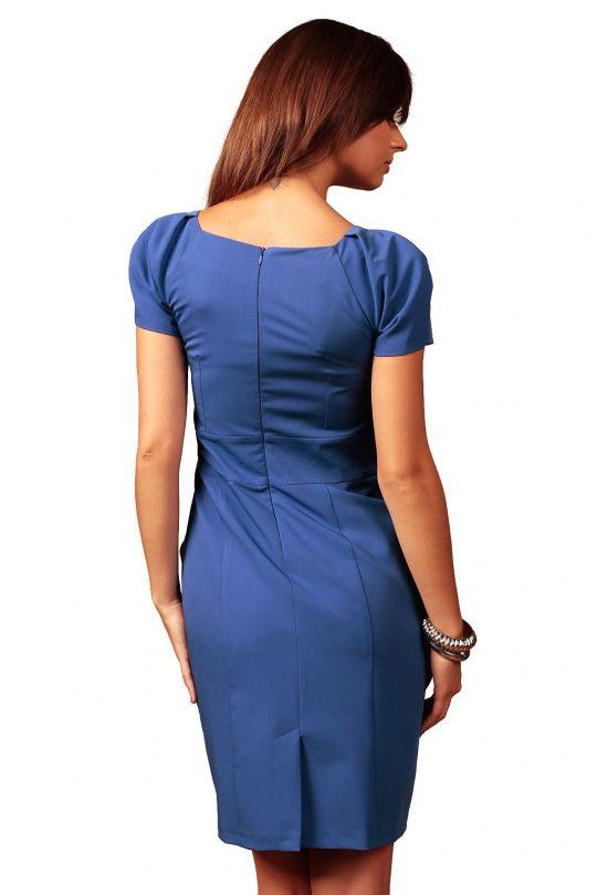 Sukienka Michelle w kolorze chabrowym
