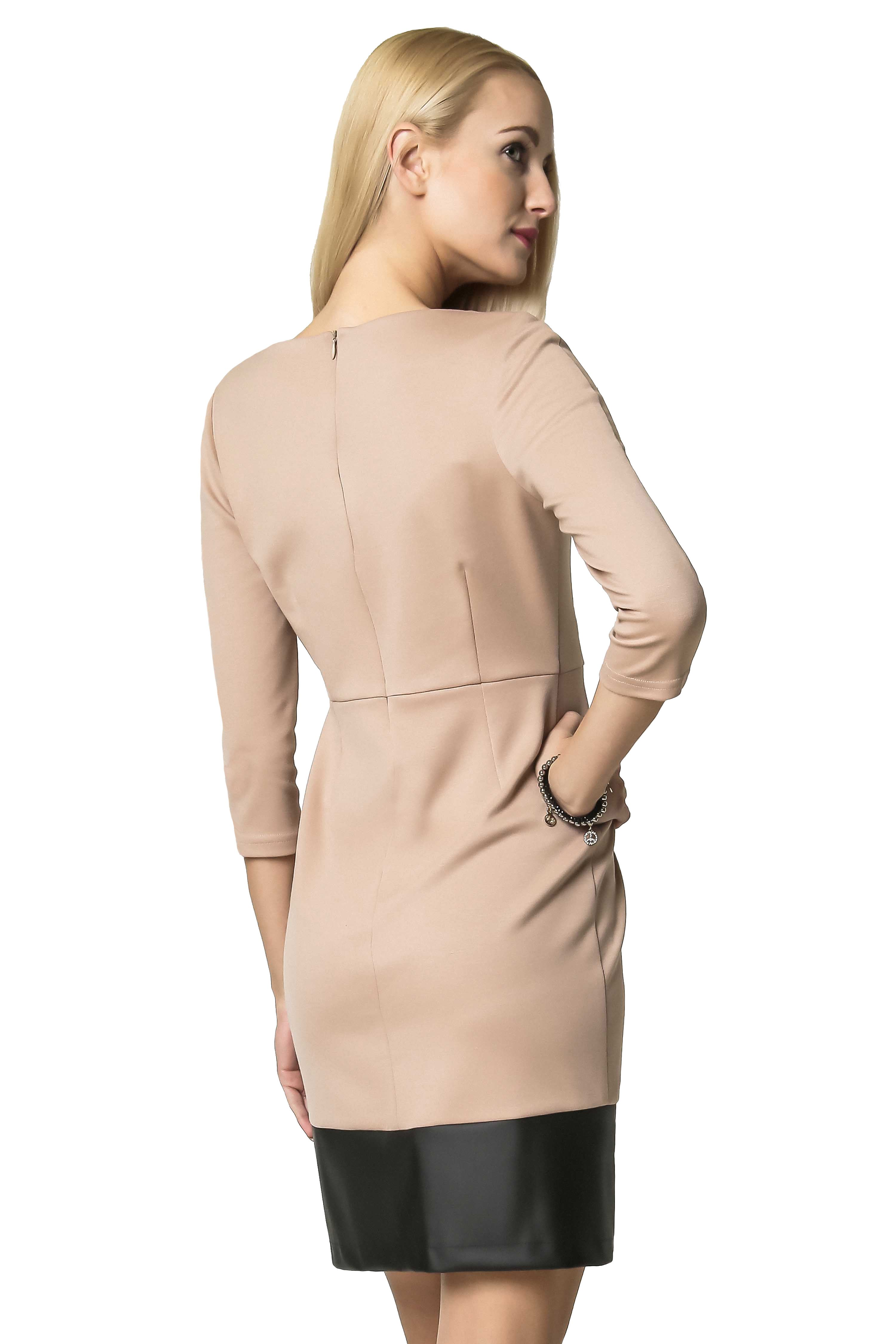 Sukienka Mira w kolorze beżowym