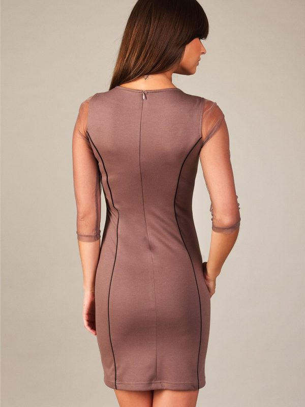 Mirelle dress in beige