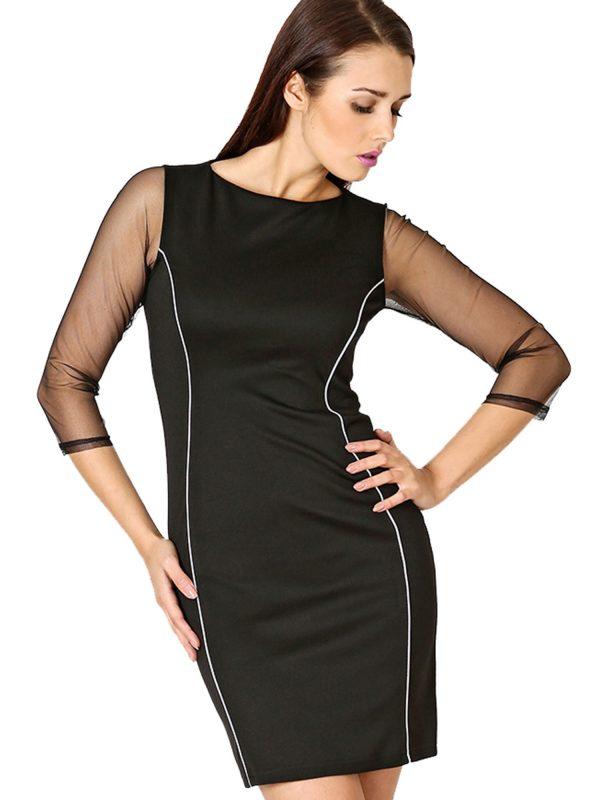 Sukienka Mirelle w kolorze czarnym